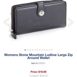 Stone Mountain large wallet